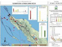 BMKG : Sumut – Aceh Diguncang 48 Kali Gempa
