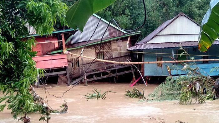 FOTO: Banjir Bandang Terjang Wajo