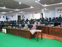 Penyampaian Pendapat Bupati Soppeng terhadap Rancangan Perda Inisiatif DPRD