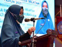 Pesan Naoemi Octarina Tutup Rakerda PKK Sulsel Tahun 2021, Yuk Disimak!