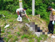 Innalillah, Ditemukan Mayat Laki-laki Terbakar di Tompo Ladang Maros