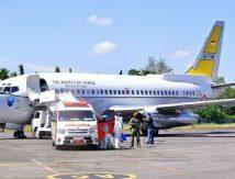 Dihadiri Menkopolhukam, Plt Gubernur Sulsel  Simulasi Force Down Pesawat Asing