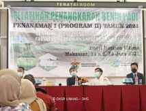 Pertanian Unhas Hadirkan Pelatihan Penangkaran Benih Padi Tujuh Kabupaten, Berikut Daftarnya