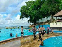 Bukan Berlibur, Brimob Bone Sasar Tempat Wisata Tanjung Palette Dan Pelabuhan Bajoe