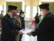 Sekda Hayat Lantik 24 Pejabat Lingkup Dinas PKP2 Sulsel, Ini Harapan Iqbal Suhaeb
