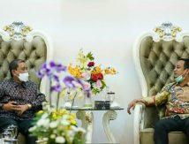 Bertemu Bupati Wajo, Plt Gubernur Sulsel Bahas Kunjungan Presiden Jokowi