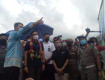 Berkunjung ke Sinjai Menparekraf Sandiaga Kagumi Hamparan Sawah di Kampung Galung