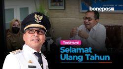 VIDEO: Walikota Makassar Ucapkan Selamat Ulang Tahun Bonepos ke-9