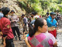 FOTO: Bencana Longsor di Tellu Limpoe Bone