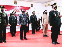 Pesan Bupati Basli pada HUT Bhayangkara ke 75