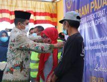 Wabup Saiful Canangkan Program Padat Karya Dirjen Perhubungan Laut di Selayar