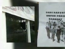 Kronologi Pos Satpol PP Kota Makassar Diserang OTK