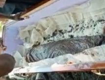Makam Dibongkar, Jasad Ramang Hilang, Tinggal Kain Kafan