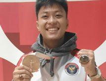 Kejutan Olimpiade Tokyo, Rahmat Erwin Abdullah Digoda Pegawai Bank