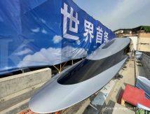 Terbaru, China Luncurkan Kereta Tercepat di Dunia