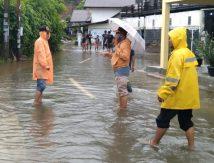 Banjir Aceh Besar Berangsur Surut