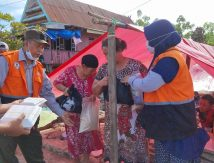 Peduli Sesama, BAZNAS Bone Turun Tangan Bantu Korban Banjir di Jeneponto