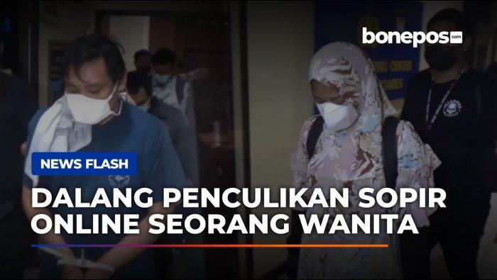 VIDEO: Ditangkap, Ini Dia Sosok Wanita Dalang Penculikan Sopir Online di Makassar