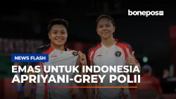VIDEO: Greysia Polii dan Apriyani Rahayu Rebut Medali Emas Olimpiade Tokyo 2020