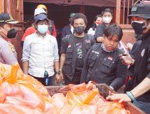 Kado Spesial Siswa Sespimmen Angkatan 61 dan IJTI Pangda Sulsel untuk Korban Kebakaran