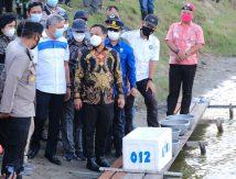 Plt Gubernur Tugaskan Kadis Kelautan Nongkrong di Tambak 1000 Hektare