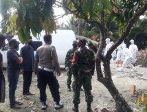 Pemakaman Kasus Covid-19 di Luwu Utara Dijaga Ketat TNI dan Polri