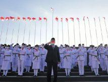 Selamat Bertugas! Danny Kukuhkan 70 Paskibraka Kota Makassar
