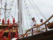 Warna-warni HUT RI Ke-76, Wali Kota Makassar Upacara di Anjungan Pantai Losari