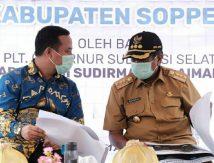 Plt Gubernur Genjot Tuntaskan Jalan Rusak di Ruas Soppeng – Pangkajene Batas Sidrap