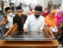Resmikan Masjid Baitul Aman, Danny Pomanto Titip Pesan, Begini Isinya