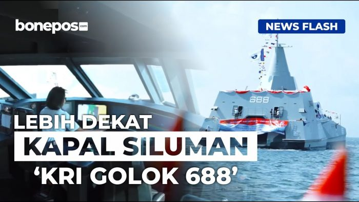 VIDEO: Canggihnya Kapal Siluman Milik TNI-AL