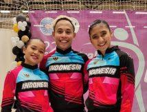 Selamat, Atlet Senam Indonesia Bawa Pulang Medali