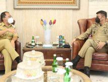 Atensi Perintah Jokowi, Adnan Temui Danny, Ini yang Dibahas