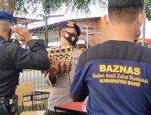 Kolaborasi Brimob dan Baznas Bantu Personel di Tempat Isolasi Mandiri, Ini Wujudnya