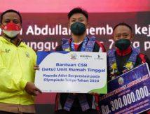 Bukan hanya Rumah, Plt Gubernur Sulsel Beri Rp300 Juta untuk Rahmat Erwin Abdullah