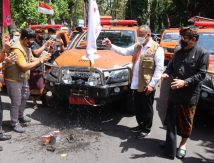 Lawan Covid-19, BNPB Hadirkan Mobil Masker di Pulau Dewata