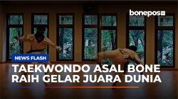 VIDEO: Atlet Taekwondo Asal Bone Sukses Sabet Gelar Juara Dunia