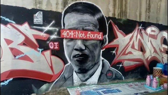 Sudah Dihapus, Ini Dia 5 Fakta Soal Mural 'Jokowi 404: Not Found'