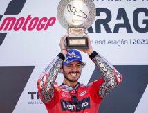 Raih Podium di Aragon, Francesco Bagnaia Cetak 5 Rekor di MotoGP