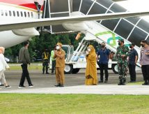 Disambut Andalan, Presiden Jokowi ke Wajo: Agatu Kareba, Silessurengku?
