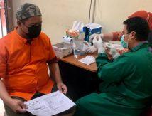 Gandeng Mitra, 200 Tahanan Jaksa Kejari Makassar Divaksin