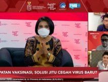 Menghadapi Virus Varian Baru, Masyarakat Harus Tetap Vaksin