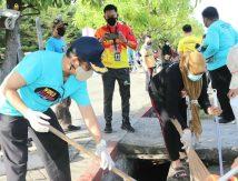 Aksi Kompak World Cleanup Day Bersama Wabup Selayar