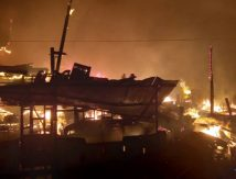 Ada Bunyi Ledakan, Delapan Rumah di Takalar Terbakar