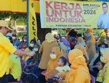 Sembari Buka Dompet, Zulkarnaen Arief Bakar Semangat Kader Golkar Polut