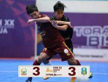 Imbang dari Jatim, Futsal Sulsel Janji Lebih Baik Kontra Jabar dan Banten