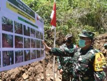 Mabes TNI Turunkan Waaspotgirga Kasau Periksa TMMD ke-112 di Maros