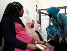 Masyarakat Antusias Kebut Vaksin Covid-19 PKK Gowa