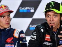 Butuh Waktu Puluhan Tahun Valentino Rossi Damai dengan Marquez