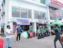 GrabBike 150 di Makassar: Buah Kolaborasi Grab dan Astra Motor Sulsel